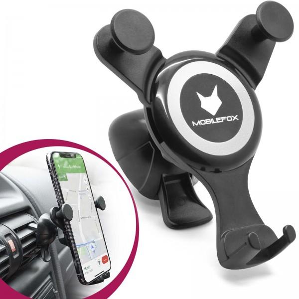 Universal Lüftungs Gitter Auto KFZ PKW Handy Halterung Halter Smartphone Lamelle