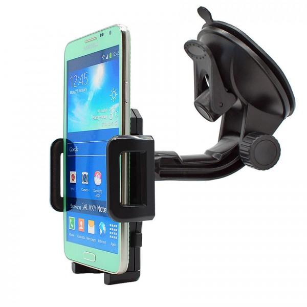 360° Universal Auto KFZ-Halterung LKW Saugnapf Halter Samsung Galaxy Note 3 Neo