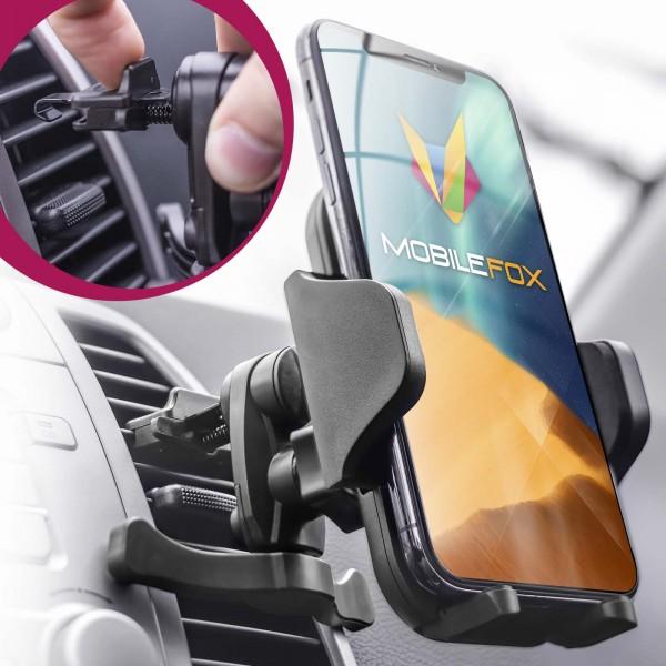 Mobilefox Universal Auto Handy Halterung Lüftung Schlitz KFZ Klemm Halter PKW