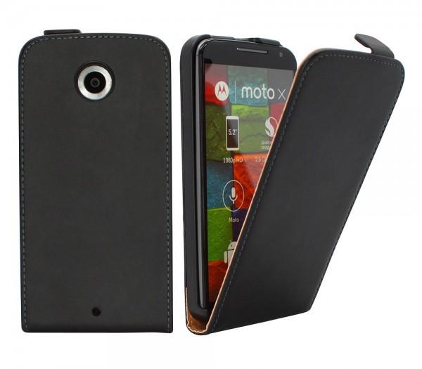Motorola Moto X 2.Generation Tasche Schutz Hülle Case Etui Cover Flip