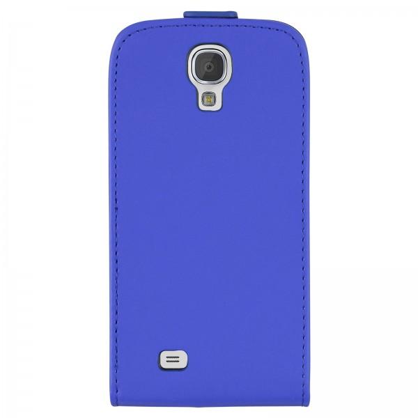 Mobilefox Handy Tasche Schutz Hülle Etui für Samsung Galaxy S4 mini Dunkelblau
