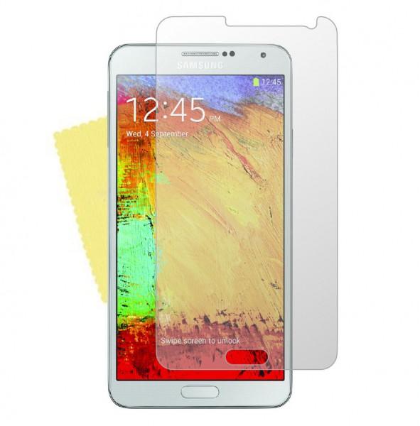 3x DISPLAY HANDY SCHUTZ FOLIE SAMSUNG Galaxy Note 3 N9005/N9000 + REINIGUNGSTUCH