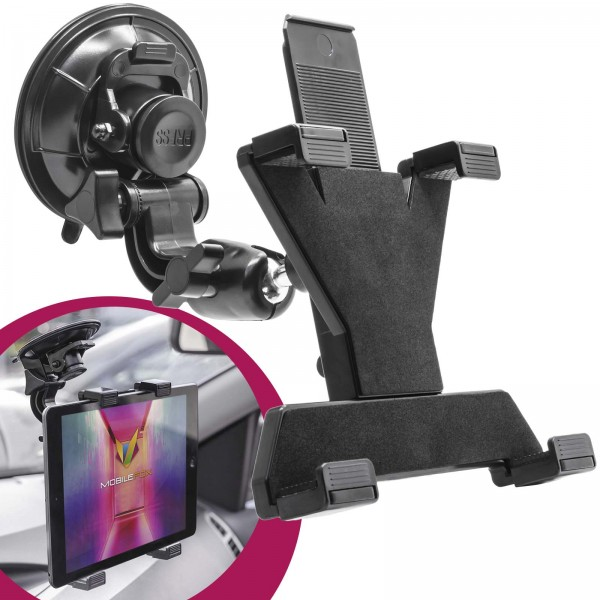 360° Universal KFZ Tablet Halterung Halter Car Holder PKW Navigation LKW iPad