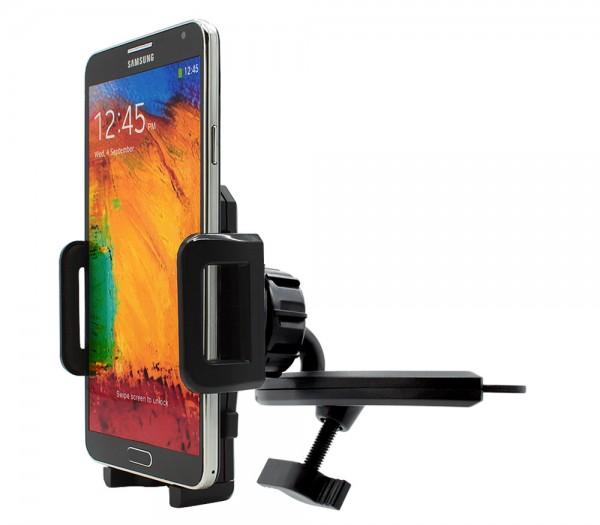 360° KFZ CD Schlitz Schacht Halterung Auto Splaten Samsung Galaxy Note 3