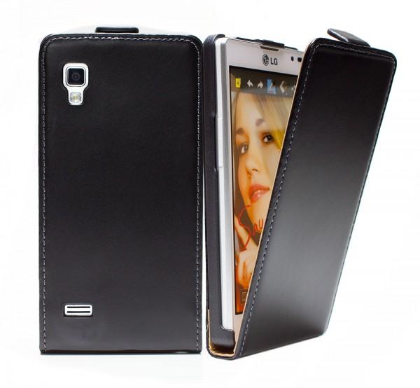 LG Optimus L9 (P760) Tasche Schutz Hülle Case Etui Cover Handy Bumper + Folie