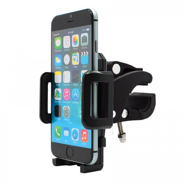 360° Fahrrad Halterung Lenker Halter MTB Bike Schwarz Apple iPhone 6