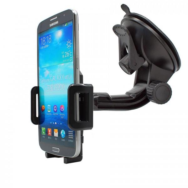 360° Universal Auto KFZ-Halterung LKW Saugnapf Halter Samsung Galaxy Mega