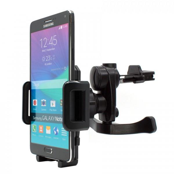 360° Samsung Galaxy Note 4 SM-N910F Lüftungs Gitter Halter Halterung Auto Handy