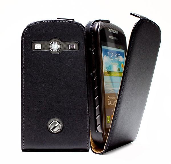 Samsung Galaxy Xcover 2 GT-S7710 Tasche Schutz Hülle Case Etui Cover Handy+Folie