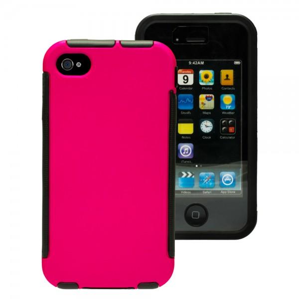 Mobilefox Full Cover Touch Case Schutzhülle 360° Schutzfenster Smartphone