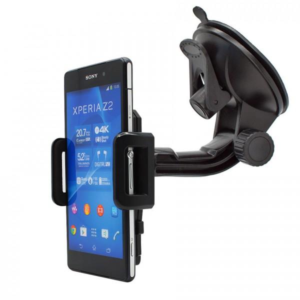 360° Universal Auto KFZ-Halterung LKW Saugnapf Halter Holder Car Sony Xperia Z2