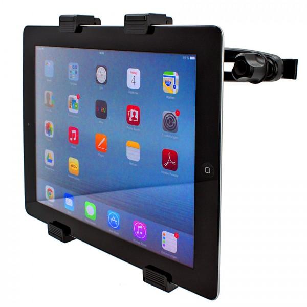 360° Kopfstützen Halterung Tablet Halter KFZ Auto Sitzhalterung PKW Apple iPad 3